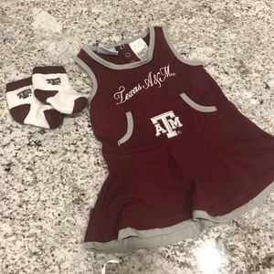 T A&M cheer outfit❤️ 18 mth